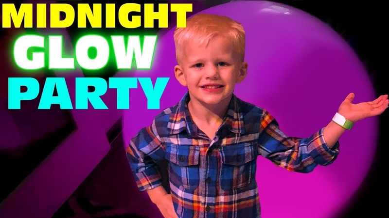 Midnight Glow in the dark Party GLOWING SHIRTS