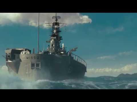 Момент из фильма Морской бой под AC/DC - Thunderstruck