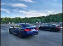 BMW M5 F90 Stage 2 сразилась с 600 сильным Porsche 911 Turbo S 💨