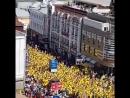 Нижний Новгород болельщики Швеции несанкционированное шествие ОМОН не бьёт уважает заграница ёпть Так и живём своих лупим