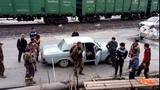 Башкирская бригада едет на работу 17 человек в одной волге