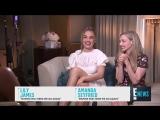 Интервью для E! Red Carpet &amp Award Shows в рамках промо Мамма Миа Это снова мы в Лондоне, Великобритания 15.07.18