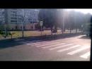 Поездка на троллейбусе по улице Пролетарской в городе Майкопе Республики Адыгея 11 07 18