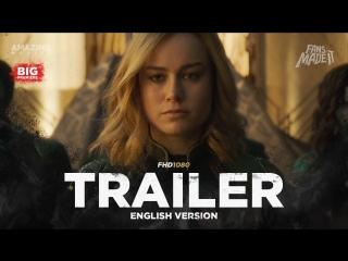 ENG | Трейлер: «Капитан Марвел» / «Captain Marvel», 2018