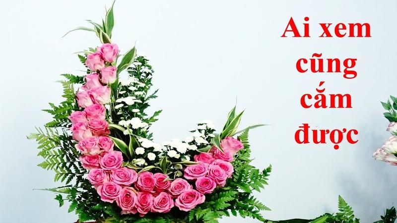 Cắm Hoa Hồng Đẹp Hoa Hồng Hoa Cúc Cắm hoa bàn thờ 220