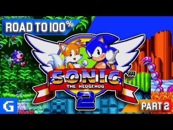Sonic The Hedgehog 2 [Road to 100%] [2] All Chaos Emeralds