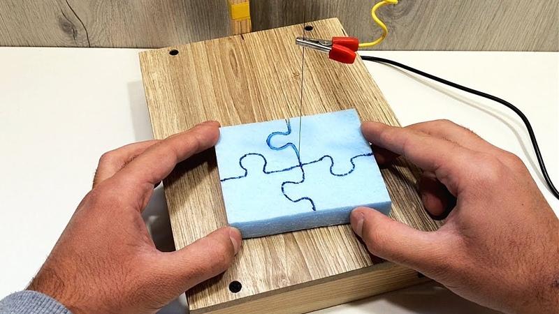 Станок для термомеханической резки пенопласта своими руками