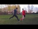 Обучение финтам в футболе для начинающих Ложные финты и движение корпусом