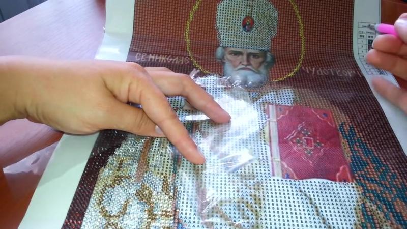 Рекомендации по работе с алмазной вышивкой для начи