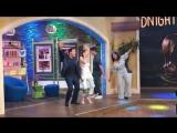 Despierta America: Bella Thorne y Patrick Schwarzenegger no dejaron de bailar al ritmo de 'Scooby Doo Pa Pa'