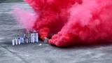 Дымовая завеса - двойной дым красный MEGA SMOKING RED - MA0514R
