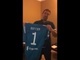 Наши вратари @rebrov32 @selikhov57  @maximenkoa так и не подарили мне футболку вратаря, о которой я так давно мечтал, так что пр