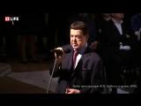 Иосиф Кобзон на церемонии прощания с Андреем Дементьевым (29.06.2018)