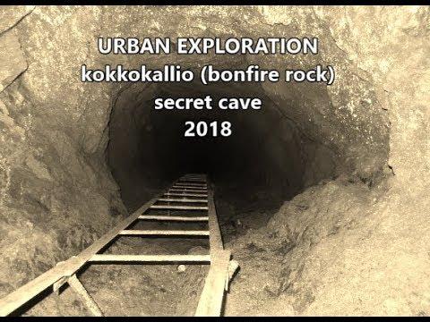 Kokkokallio (bonfire rock) Secret Cave UE-18