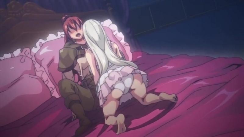 Замке порно в аниме однажды видео