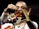 Sinead OConnor ripping Pope picture - Fight the real enemy