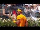 Hot Shot Nadal Never Gives Up For Backhand Winner