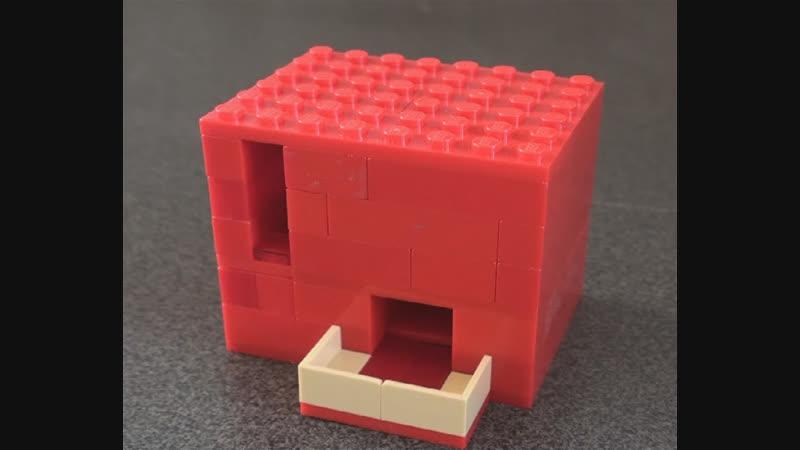 Как сделать конфетницу из ЛЕГО 4 Самоделки из Лего Lego
