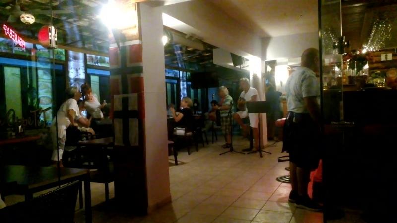BELLA CİAO (Прощай, красавица) - ÇAV BELLA (турецкая версия) в Кемере в ресторане....20.06.2018
