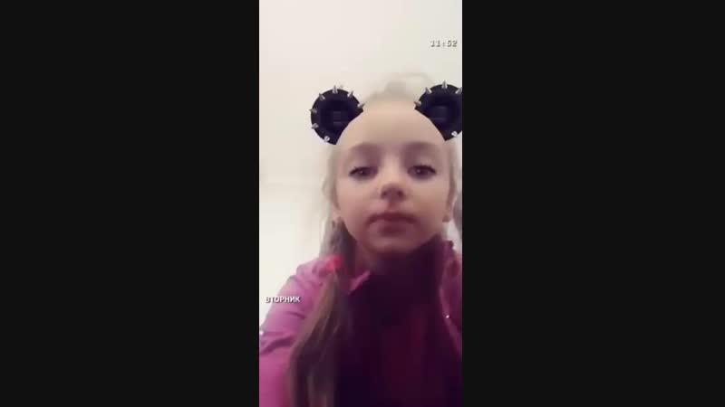 Виталина исполняет песню Егора Крида