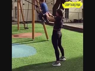 Спортхакерша: дети - не помеха тренировкам