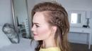 Peek-a-Boo Ladder Braid | Hairstyle
