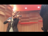 David Garrett , the Filarmonica della Scala and conductor Riccardo Chailly, Tchaikovsky's , violin-concerto op35