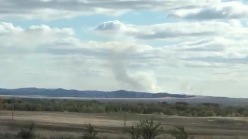 Степной пожар в Кувандыкском районе, 21.09.18 (2)