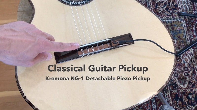 Classical Guitar Pickup Review Kremona KNA NG-1 Piezo Pickup