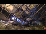 Внутри ТЦ Зимняя вишня после пожара. Кемерово