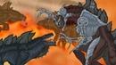 Кинг Конг против Годзиллы 7 - Кибер-Зилла Начало / King Kong vs. Godzilla - Cyber-Zilla Origin
