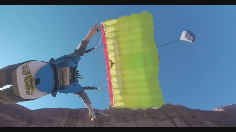 Las maniobras de BASE-jumping