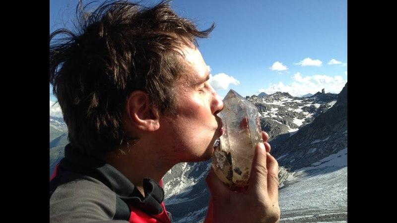Скалолазы в поисках Альпийских кристаллов, mining, mine, mines Alps crystals