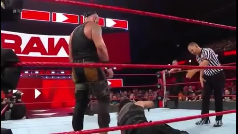 WWE February 08, 2019 _ Roman Reigns vs Brock Lesnar Team Full Match