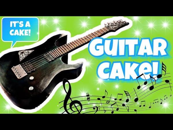 ТОРТ ГИТАРА. Electric Guitar - Cake Tutorial