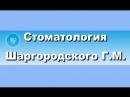 Интервью Шаргородского Геннадия Марковича