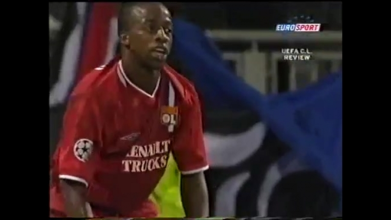 82 CL-2003/2004 Olympique Lyon - RSC Anderlecht 1:0 (17.09.2003) HL
