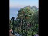 Маша Троцко в Италии Portofino Vetta, Liguria, Italy 2.08.18