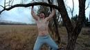 Как быстро похудеть Турник из дерева в лесу