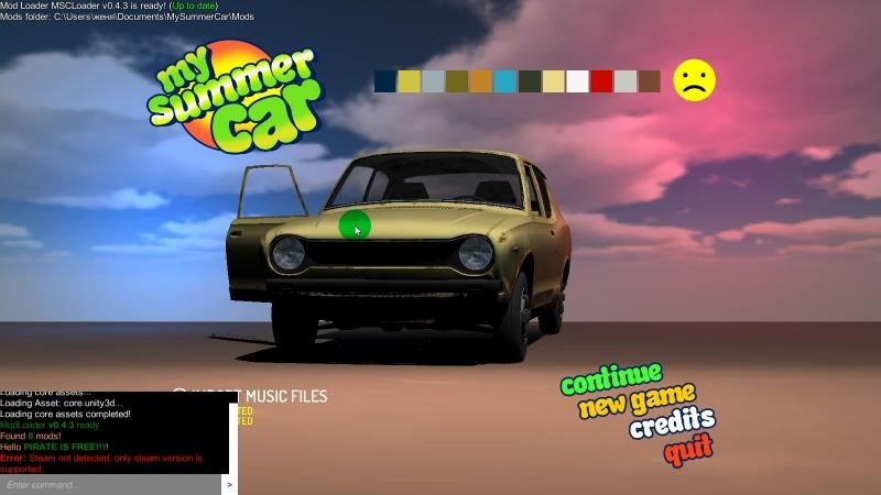 Как установить MSC Mod Loader в My Summer Car