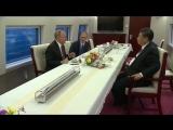 Путин приехал в Тяньцзинь на скоростном поезде