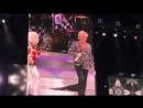 """Cyndi Lauper and Rod Stewart """" it takes two"""" MSG NYC summer 2018"""