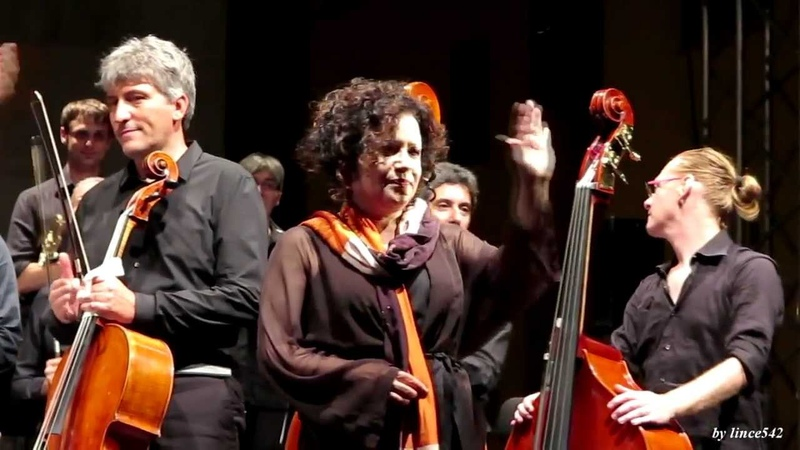 Antonella Ruggiero - TI SENTO BIS live @ Folkest 2013 Spilimbergo