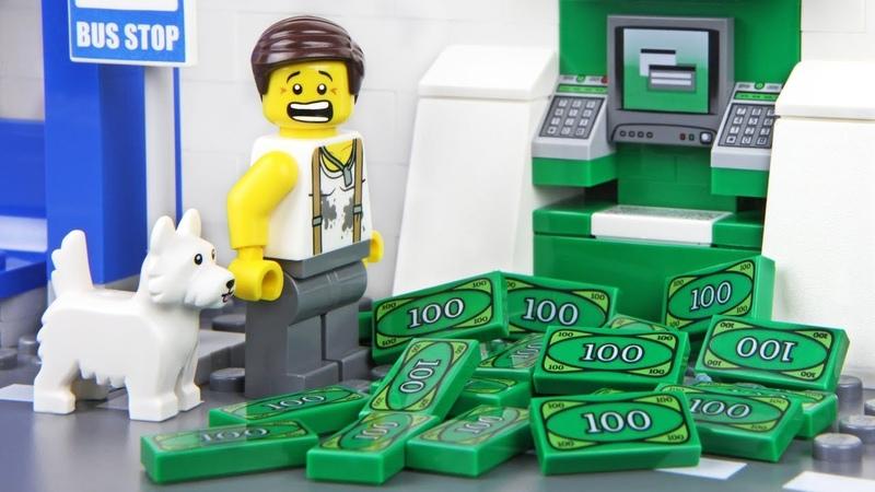 Lego ATM Fail - The Homeless