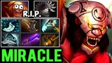 How MIRACLE- Axe counter Invoker Easily - He can Carry with Any Hero