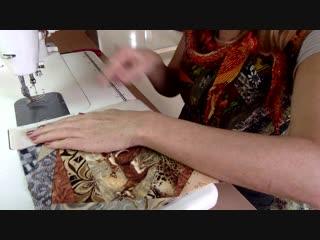 """Лоскутный эфир 97. Продолжаем шить лоскутное одеяло для подростка """"Дикая Африка"""""""