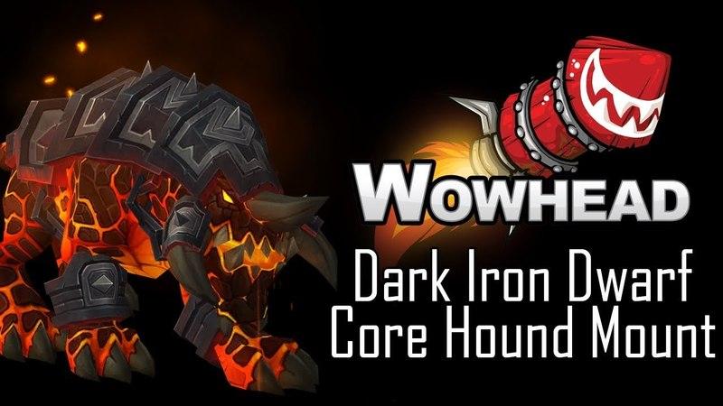 Dark Iron Core Hound Mount