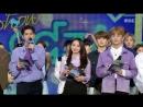 180331 Четвёртая победа BOOMERANG (부메랑)' на Show! Music Core