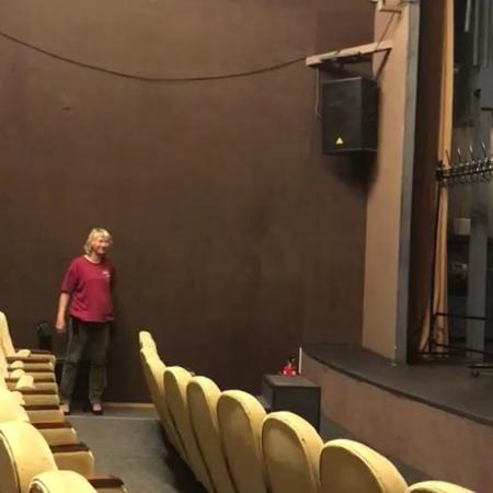 Репетиция спектакля Огниво.