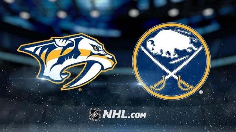 НХЛ - регулярный чемпионат. Баффало Сэйбрз - Нэшвилл Предаторз - 0:4 (0:0, 0:2, 0:2)